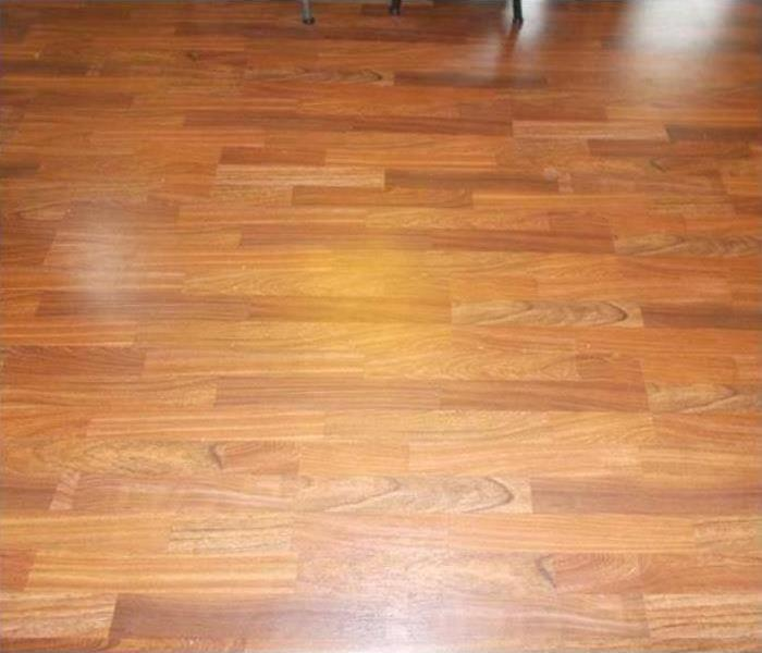 new flooring in the samae room of the house