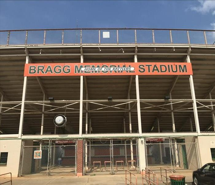 Signage at Entrance to Florida A&M Stadium